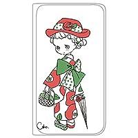 Caho iPhone6s ケース 手帳型 薄型プリント手帳 着物と花C (ch-003) カード収納 ストラップホール スタンド機能 WN-LC128122-ML
