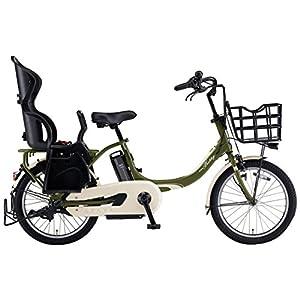 YAMAHA(ヤマハ) 電動アシスト自転車 2018年 ファミリーモデル PAS Babby un 20インチ 12.3Ahリチウムイオンバッテリー搭載 リヤチャイルドシート標準装備 PA20CGXB8J ディープフォレスト