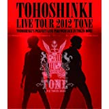 東方神起 LIVE TOUR 2012 ~TONE~(Blu-ray)※特典ポスター無