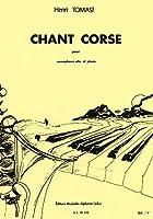 トマジ : コルシカの歌 (サクソフォン、ピアノ) ルデュック出版
