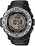 [カシオ]CASIO 腕時計 PROTREK プロトレック MULTI FIELD LINE マルチフィールドライン PRW-3500-1 ブラック×シルバー メンズ [並行輸入品]