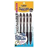 ビック 油性ボールペン スーパーEZノック 0.5 黒 5本 SEZRT05BLK5P