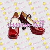 【サイズ選択可】女性23CM★コスプレ靴 ブーツ★20539★アニメ「K」★櫛名アンナ くしなあんな