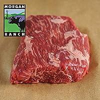 モーガン牧場ビーフアメリカ産 牛肉 熟成 高品質 フラップミートステーキ (カイノミ)アメリカンビーフ ホルモン剤や抗生物質不使用 180g x 3枚