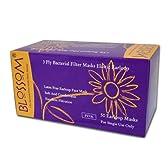 細菌ろ過効率(BFE) 97-98% 医療用 使い捨て マスク ライトピンク 50枚入
