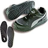 PUMA(プーマ) 安全靴 スプリント ブラック ロー 27.0cm 中敷き インソール付セット 64.333.0&20.450.0