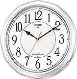 CITIZEN (シチズン) 電波 掛け時計 ネムリーナサニー 4MY642-019