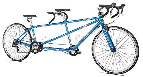 【並行輸入品】Giordano(ジョルダーノ) Viaggio タンデム 自転車(ブルー)