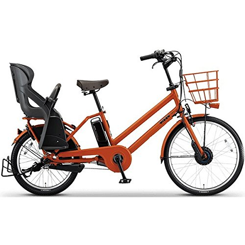 BRIDGESTONE(ブリヂストン) bikke GRI 子ども乗せ電動アシスト自転車 8.1Ah デュアルドライブ アルミフレーム 2017年モデル BG0B36 E.Xアンバーオレンンジ