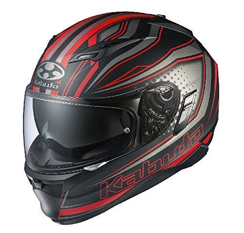 オージーケーカブト(OGK KABUTO) バイクヘルメット フルフェイス KAMUI2 GALAN(ギャラン) フラットブラック...