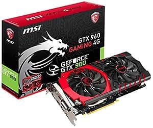 MSI GeForce GTX960搭載ビデオカード GTX960 GAMING 4G