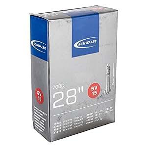 SCHWALBE(シュワルベ) 【正規品】700x18-28Cチューブ 仏式 40㎜バルブ 15SV