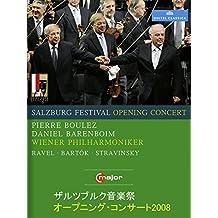 ザルツブルク音楽祭オープニング・コンサート2008(バレンボイム/ブーレーズ/ウィーン・フィル)