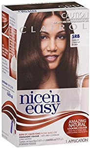 Clairol Nice'n Easy Permanant Hair Colour, 5rb Medium Chestnut Brown, 1 c