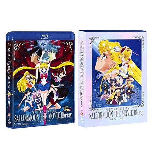 【Amazon.co.jp限定】美少女戦士セーラームーン THE MOVIE Blu-ray 1993-1995(初回生産限定)(オリジナルクリアファイル付)