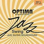 オプティマ(OPTIMA) ジャズギター弦    JAZZ SWING ラウンドワウンド 1947.L