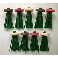 産卵床 ウミウミ 9個グリーン Mサイズ ハンドメイド産卵草