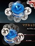 Orbiters Ball Fidget Toy ハンドスピナー 指スピナー 強力マグネティック人工衛星型 分離可能 2個のボール 脳トレ ストレス解消 集中力高める orbiter