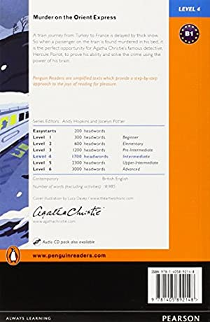 Penguin Readers: Level 4 MURDER ON THE ORIENT EXPRESS