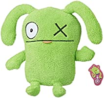 """UglyDolls - Jokingly Yours OX 9.5"""" Plush Figure - Green 1 Eyed Doll with Letter- Kids Toys - Ages 4+"""