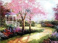 Diyデジタル油絵手仕事着色夢トレイルキャンバス絵画家の装飾アート(40×50センチ)by数字絵画用ユニークな贈り物