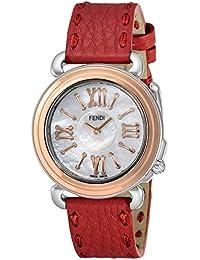 [フェンディ]FENDI 腕時計 セレリア ホワイトパール文字盤 F8012345H0-SSN18-RB7S-SSN-18R-04S レディース 【並行輸入品】
