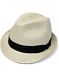 (テシ) TESI ラフィア中折れ帽
