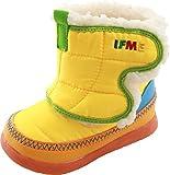 (イフミー) IFME 30-7718 子供 キッズ ベビー ショート ブーツ (12.0cm, イエロー)