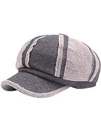 ノーブランド ベレー帽  レディース メンズ キャップ ハット アウトドア 旅行 保温 防寒対策 日除け 暖かい 通気性 シンプル 帽子 画家帽 レジャー 秋冬 男女兼用