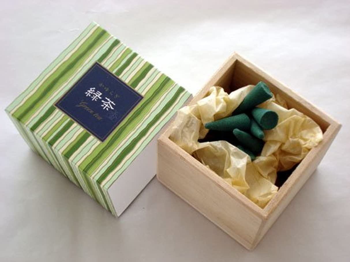 フレームワーク国内の不健康かゆらぎ 緑茶(りょくちゃ) コーン型