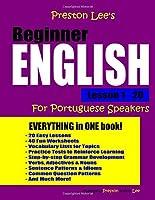 Preston Lee's Beginner English Lesson 1 - 20 For Portuguese Speakers
