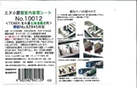 Nゲージ 10012 TOMIX 「北斗星」北海道編成増結用個室表現シート