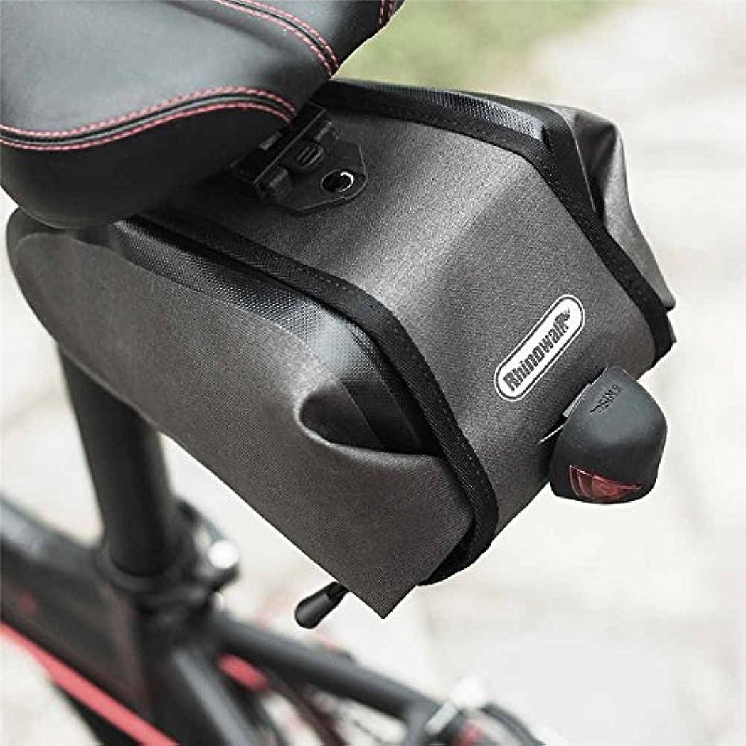備品ポーター永遠のFirlar 自転車 サドルバッグ リアバッグ 防水 留め具付き 反射印刷 収納 小物入れ 取り付け簡単  サイクリング バッグ