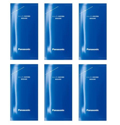パナソニック 洗浄剤カートリッジ ラムダッシュ メンズシェーバー洗浄充電器用 6個入り ES-4L06A