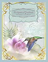 Whispers of Gratitude - 26 Weeks in the Positive: Green Hummingbird - Guided Journal - Helps You Keep a Daily Written Record of Gratitude, Gains, and Quiet Times - by Jottn' Journals