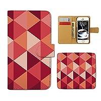 (ティアラ)Tiara V30+ L-01K スマホケース 手帳型 stylish 手帳ケース カバー アブストラクト アート クール E0078030100205