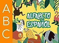 Alfabeto Español: Aprende las letras del alfabeto español de la A a la Z.  Libro de colorear