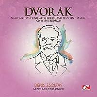 Slavonic Dance 4 Four Hand Piano F Maj 46