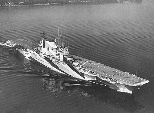 USS Saratoga cv-3inダズルカモフラージュ8x 10フォト印刷