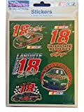 2000 Winner 's Circle DriverステッカーコレクションBobby Labonte # 18 Interstate Batteries Nascar ( 4シート)