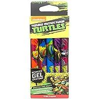 Teenage Mutant Ninja Turtlesジェルクレヨン( 5 - Packの香りジェルCoreクレヨン)