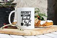 Aircraft Mechanicコーヒーmug- Aircraft Mechanics Gifts–For Airplane Mechanic–平面Tech gifts–Aircraftメンテナンス技術者AMTマグ