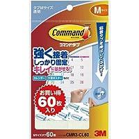 スリーエムジャパン コマンドTMタブクリアお買得パックMサイズ