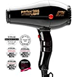 Parlux 385 Powerlight Ceramic & Ionic Dryer 2150W, Black