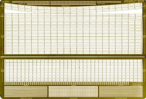 米・英・独 海軍 艦船用2段手摺 エッチングパーツ GM-2002