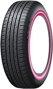 ダンロップ GRANDTREK PT3 215/70R16 カスタムプリントピンク白ピンクライン 4本セット