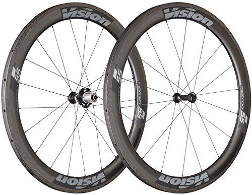 Vision (ヴィジョン) 自転車 ロードバイク パーツ 部品 ホイール 車輪 set Metron55 SL Tub Gray SH11 V17 ホイール 710-0006191037