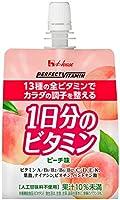 ハウスウェルネス C1000 1日分のビタミンゼリー ピーチ味 180gパウチ×24袋入×2ケース(48袋)