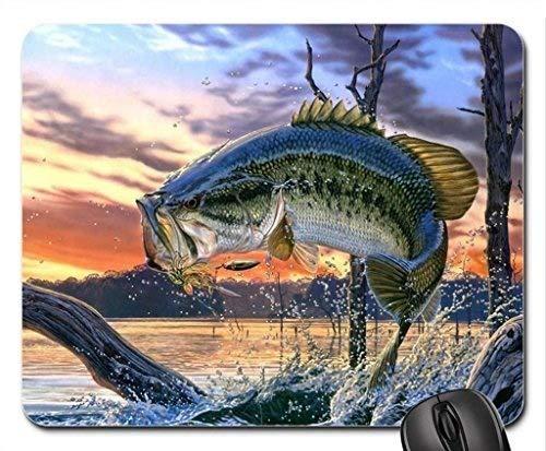 魚をテーマにしたゲーム用マウスパッド、サーモンスプリングスマ...