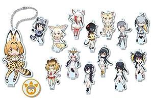 けものフレンズ コレクションアクリルスタンドキーチェーン BOX商品 1BOX = 14個入り、全14種類
